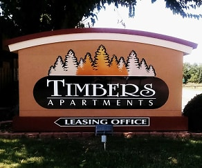 Community Signage, Timbers Apartments