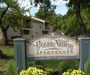 Community Signage, Pecan Valley Apartments