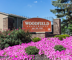 Community Signage, Woodfield Apartments