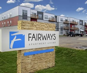 Community Signage, Fairways Apartments