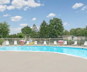 Pool, Kimberly Court