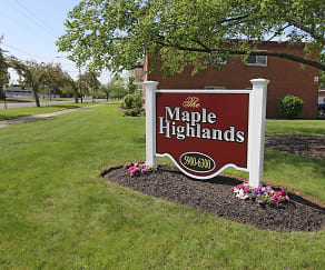 Community Signage, Maple Highlands
