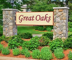 Community Signage, Great Oaks Apartments