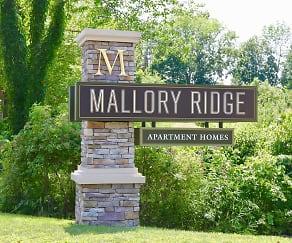 Community Signage, Mallory Ridge Apartments