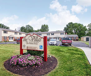 Community Signage, Villas Apartments