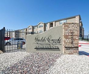 Community Signage, Gold Creek Apartments