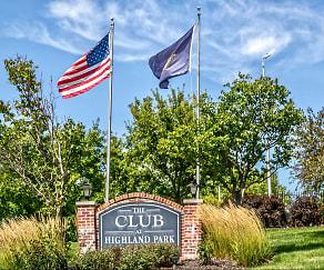 Community Signage, Club At Highland Park