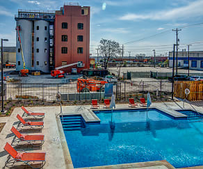 Pool, Peanut Factory Lofts