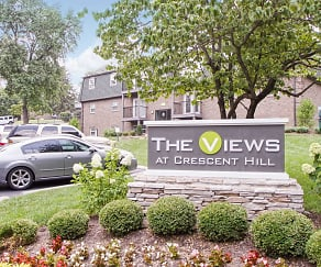 Community Signage, The Views at Crescent Hill