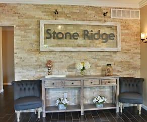 Clubhouse, Stone Ridge