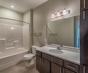 Bathroom, Encore Apartments