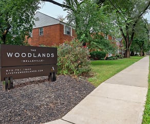 Community Signage, Woodlands at Belleview