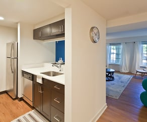 Contemporary finishes throughout, Sharples Works