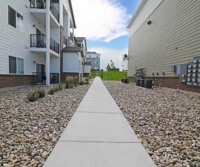 Building, Gateway Apartments