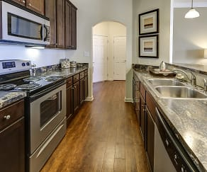 Kitchen, Westhaven Luxury Apartments of Zionsville
