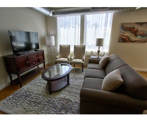 Living Room, Draper Lofts