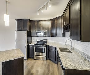 Kitchen, Timber Ridge Luxury Apartments