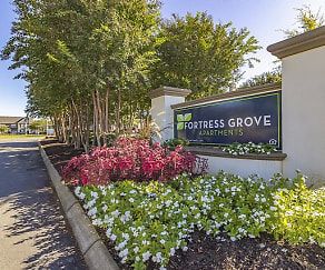 Community Signage, Fortress Grove Apartments