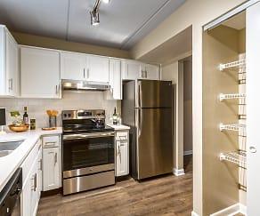 Kitchen, Gull Harbor Apartments