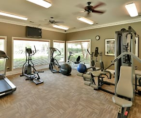 Fitness Weight Room, Bentley Place At Willow Bend