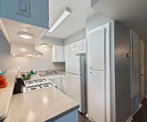 Kitchen, Delta Residence
