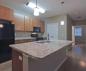 Kitchen, Sonata Apartments