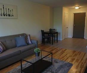 Living Room, Sea Breeze Apartments