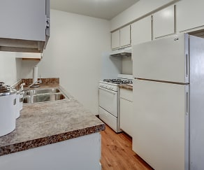 Kitchen, Mayfair Apartment Homes
