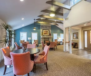 Dining Room, The Hunt Club at Pin Oak Apartments