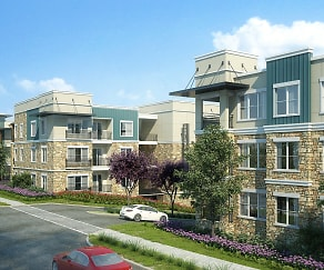 Building, Jefferson Woodlands
