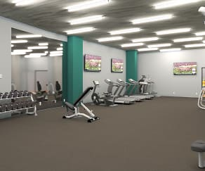 Fitness Weight Room, Crossroads Westside