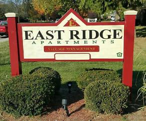 Community Signage, East Ridge Apartments - IN