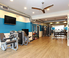 Fitness Weight Room, Arrive Buckhead