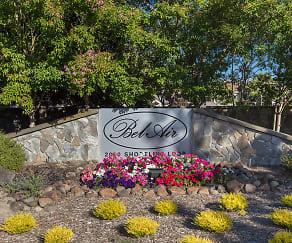 Community Signage, Bel Air Fairway Apartment Homes