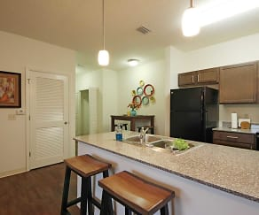 Kitchen, Eagle Landing Apartments