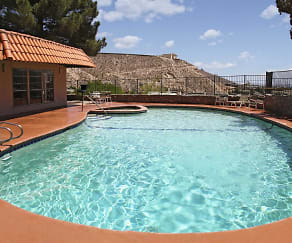 Pool, Overlook Apartments