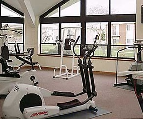 Fitness Weight Room, Park Ridge Commons