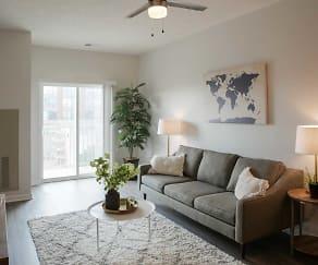 Living Room, Nichol Flats