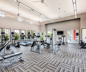 Fitness Weight Room, Cortland Hunter's Creek
