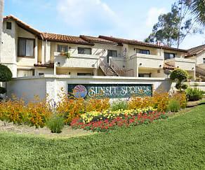 Community Signage, Sunset Springs