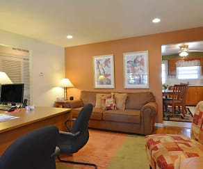 Living Room, Brookview Manor Apartments, LLC