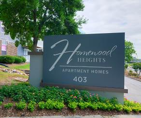 Community Signage, Homewood Heights