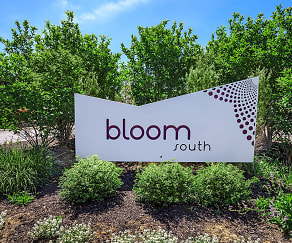 Community Signage, Bloom Apartments