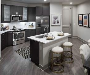 Kitchen, Broadstone Evoke