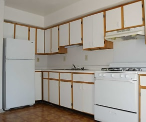 Kitchen, Keystone Village and Penn Street Apartments