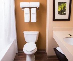 Bathroom, Furnished Studio - Austin - Northwest - Research Park