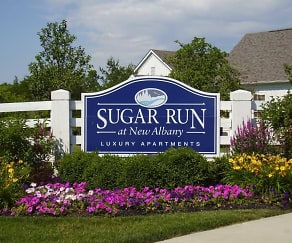 Community Signage, Sugar Run At New Albany
