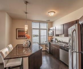 Kitchen, Watermark Lofts