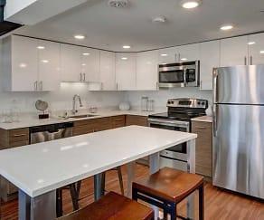 Kitchen, Queen Anne Flats