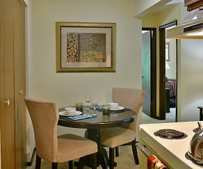 Dining Room, Timberlane Apartments